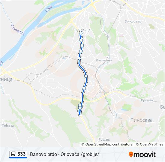groblje orlovaca beograd mapa 533 trasa: Vremena polazaka, stajališta i mape groblje orlovaca beograd mapa