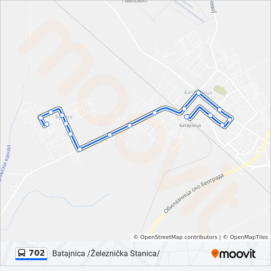 busije mapa Línea 702: horarios, mapas y paradas busije mapa