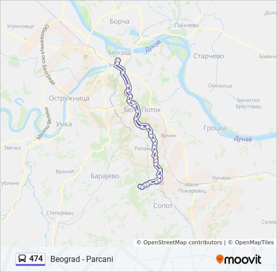 jajinci mapa Línea 474: horarios, mapas y paradas jajinci mapa