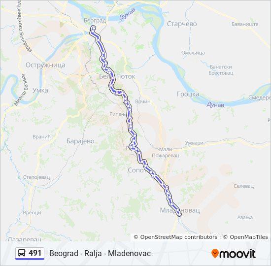 palata pravde beograd mapa 491 trasa: Vremena polazaka, stajališta i mape palata pravde beograd mapa