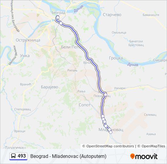 Ruta Ng 493 Iskedyul Ng Oras Hintuan Mapa