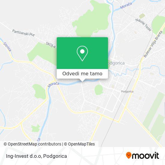 Ing-Invest d.o.o mapa