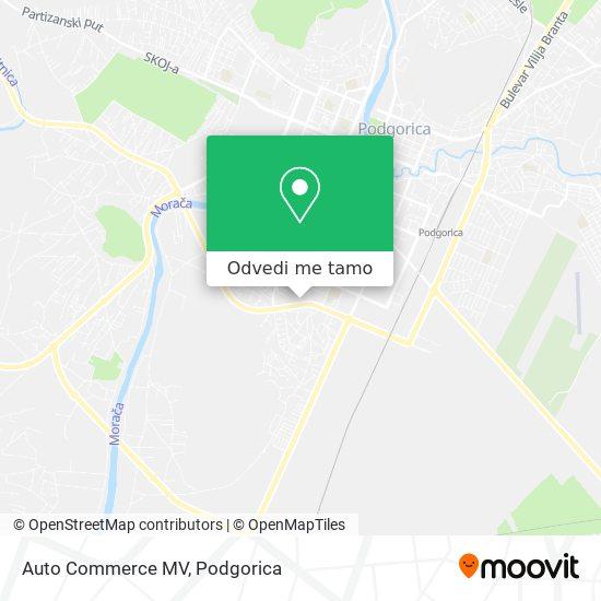 Auto Commerce MV mapa