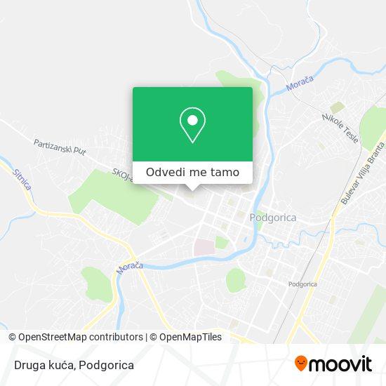 Druga kuća mapa