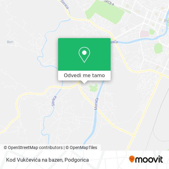 Kod Vukčevića na bazen mapa
