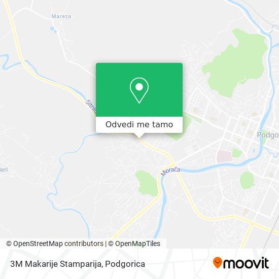 3M Makarije Stamparija mapa