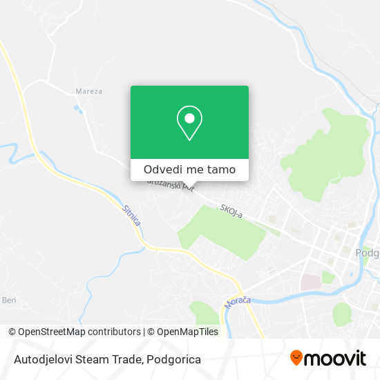 Autodjelovi Steam Trade mapa