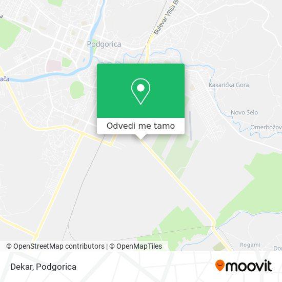 Dekar mapa
