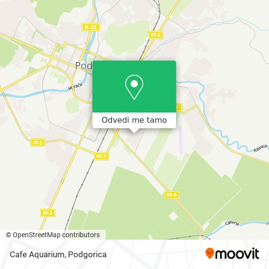 Cafe Aquarium mapa