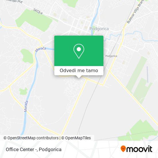 Office Center - mapa