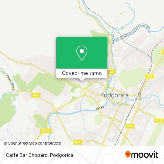Caffe Bar Chopard mapa