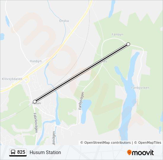 Husum Karte.Linie 825 Fahrplane Haltestelle Karten Husum Station
