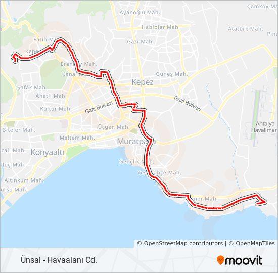 FL82 bus Line Map