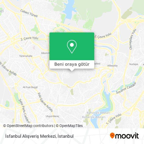 İsfanbul Alışveriş Merkezi harita