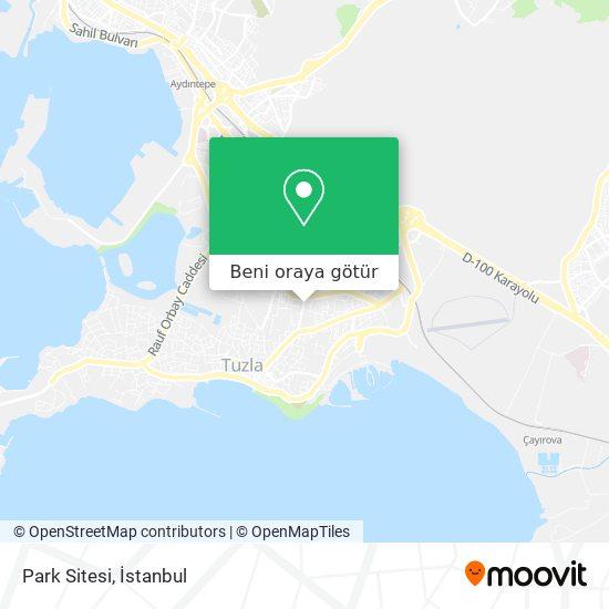Park Sitesi harita