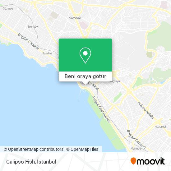 Calipso Fish harita