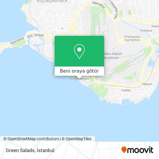Green Salads harita