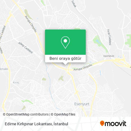 Edirne Kırkpınar Lokantası harita