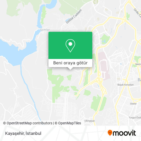 Kayaşehir harita