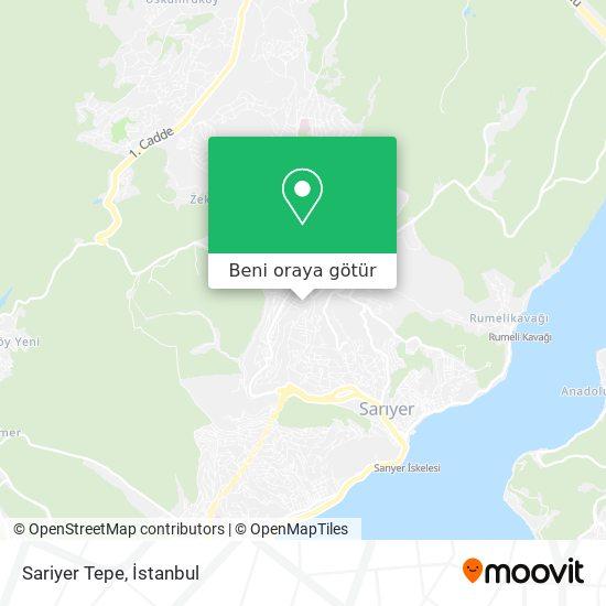 Sariyer Tepe harita