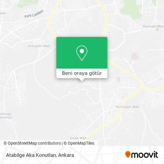 Atabilge Aka Konutları harita