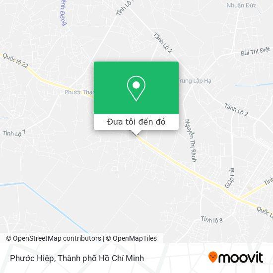 Bản đồ Phước Hiệp