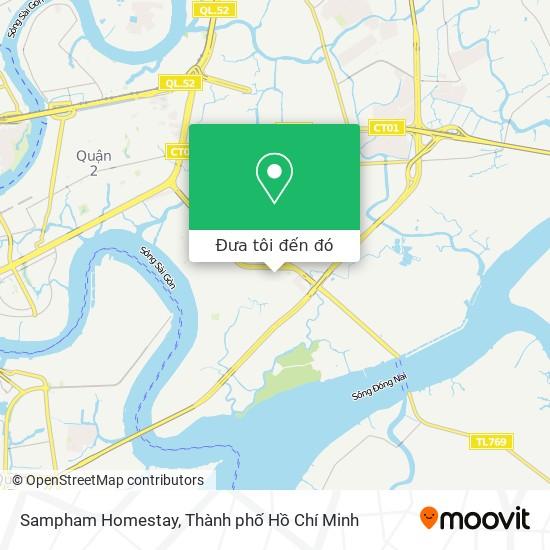 Bản đồ Sampham Homestay