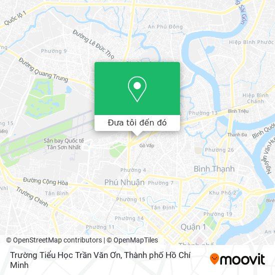 Bản đồ Trường Tiểu Học Trần Văn Ơn