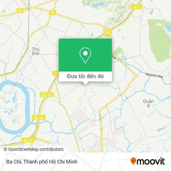 Bản đồ Ba Chi