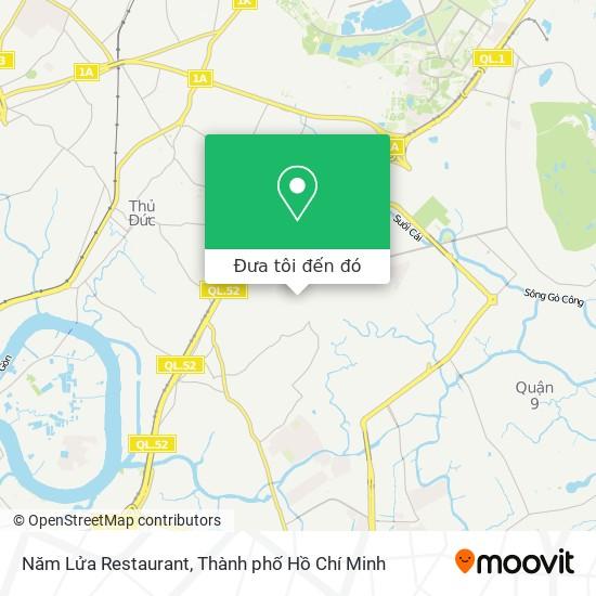 Bản đồ Năm Lửa Restaurant