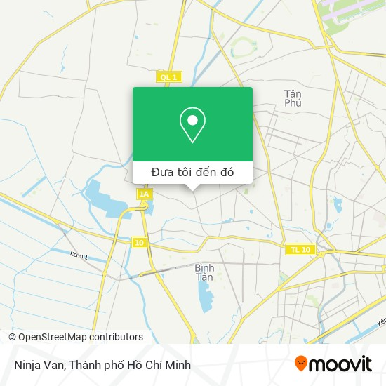 Bản đồ Ninja Van