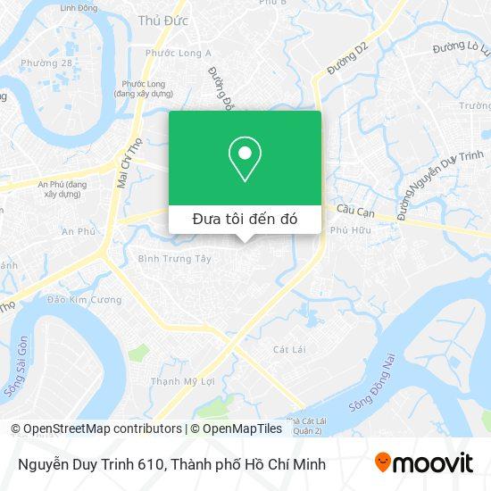 Bản đồ Nguyễn Duy Trinh 610