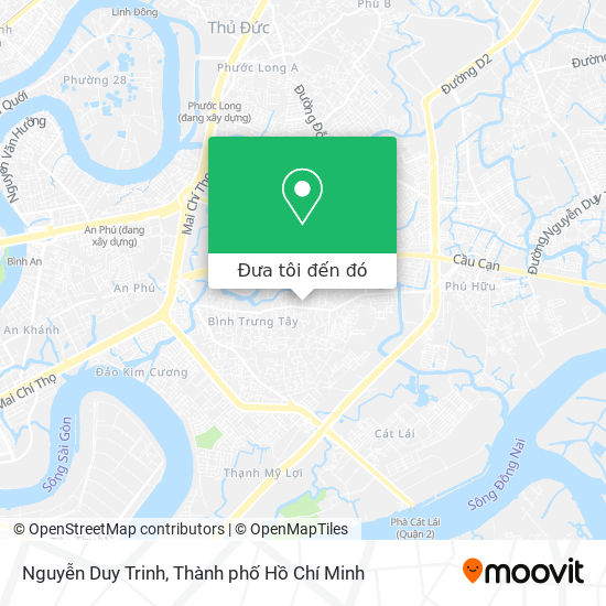 Bản đồ Nguyễn Duy Trinh