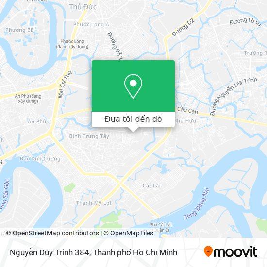 Bản đồ Nguyễn Duy Trinh 384