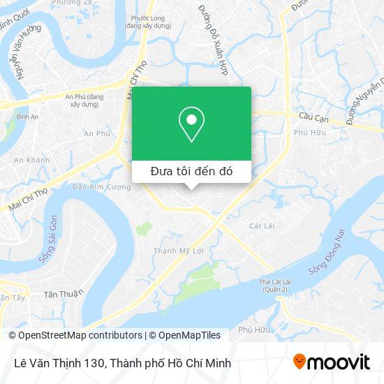 Bản đồ Lê Văn Thịnh 130