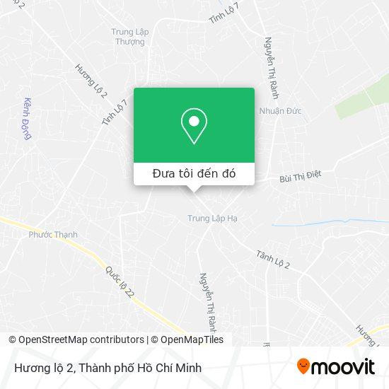 Bản đồ Hương lộ 2
