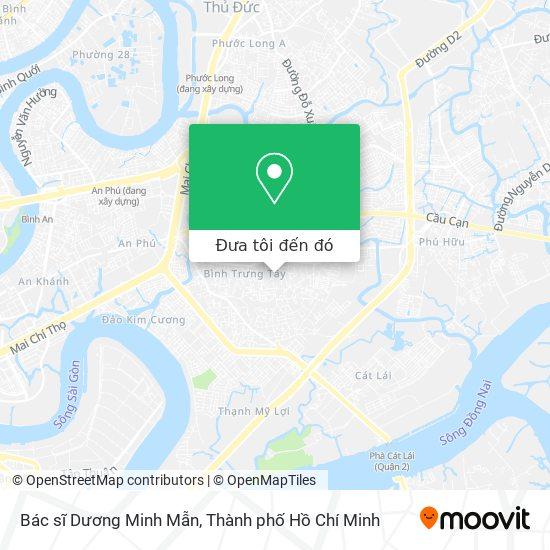 Bản đồ Bác sĩ Dương Minh Mẫn