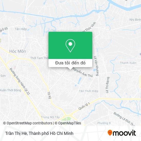 Bản đồ Trần Thị Hè