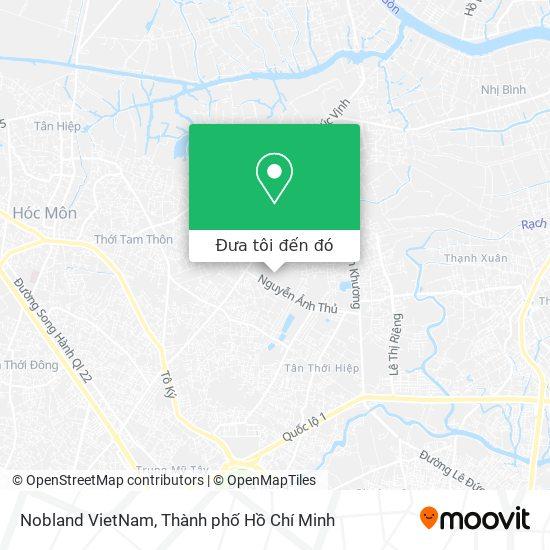 Bản đồ Nobland VietNam