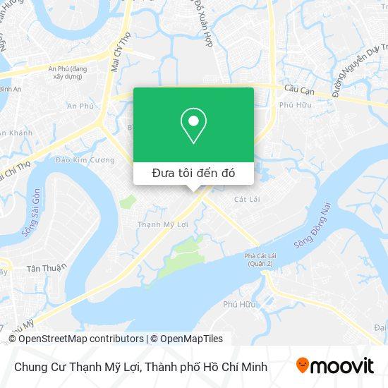 Bản đồ Chung Cư Thạnh Mỹ Lợi