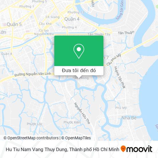 Bản đồ Hu Tiu Nam Vang Thuy Dung