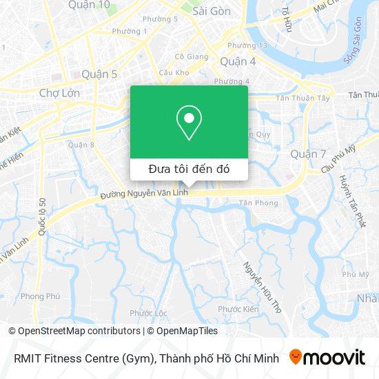 Bản đồ RMIT Fitness Centre (Gym)