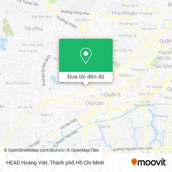 Bản đồ HEAD Hoàng Việt