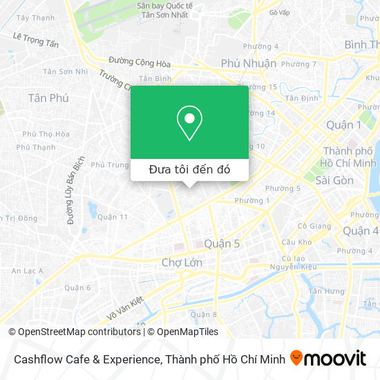 Bản đồ Cashflow Cafe & Experience