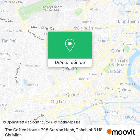 Bản đồ The Coffee House 798 Sư Vạn Hạnh