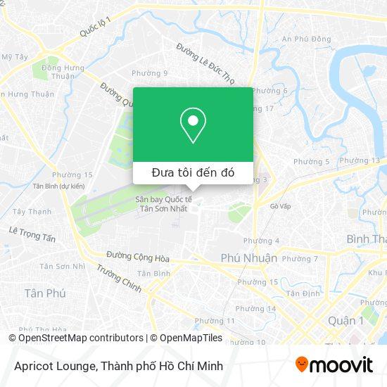 Bản đồ Apricot Lounge