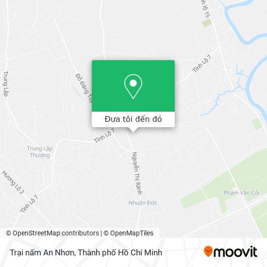 Bản đồ Trại nấm An Nhơn