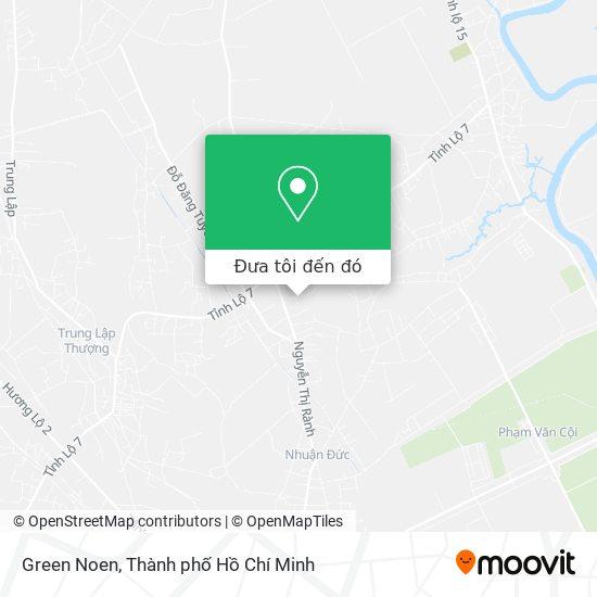 Bản đồ Green Noen