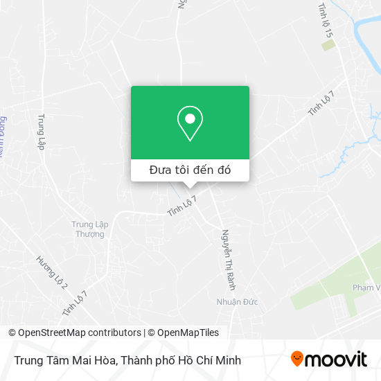 Bản đồ Trung Tâm Mai Hòa