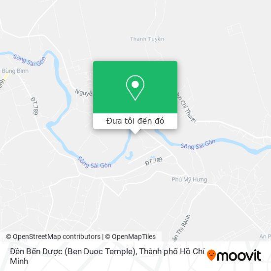 Bản đồ Đền Bến Dược (Ben Duoc Temple)